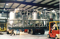 Oil Mixing Skid